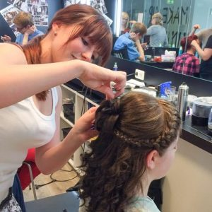Making-of Hairstyling