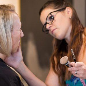 Making-of Braut Make-up